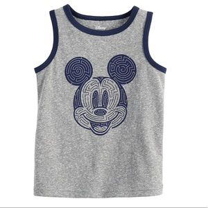 Disney Kids Mickey Mouse Tank Top (New)